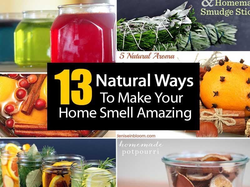 13 Natural Ways To Make Your Home Smell Amazing - ohsimply.com