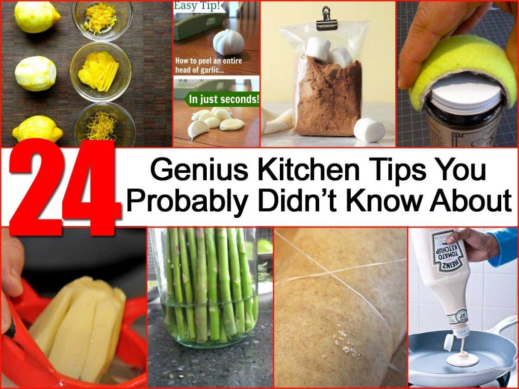 24 Genius Kitchen Tips You Probably Didnu0027t Know About