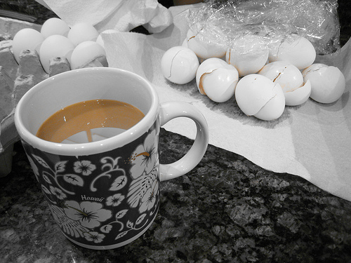 coffee-egg