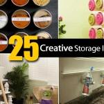 25 Creative Storage Ideas