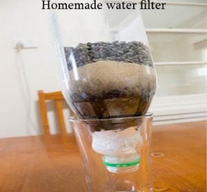 Homemade Water Filter