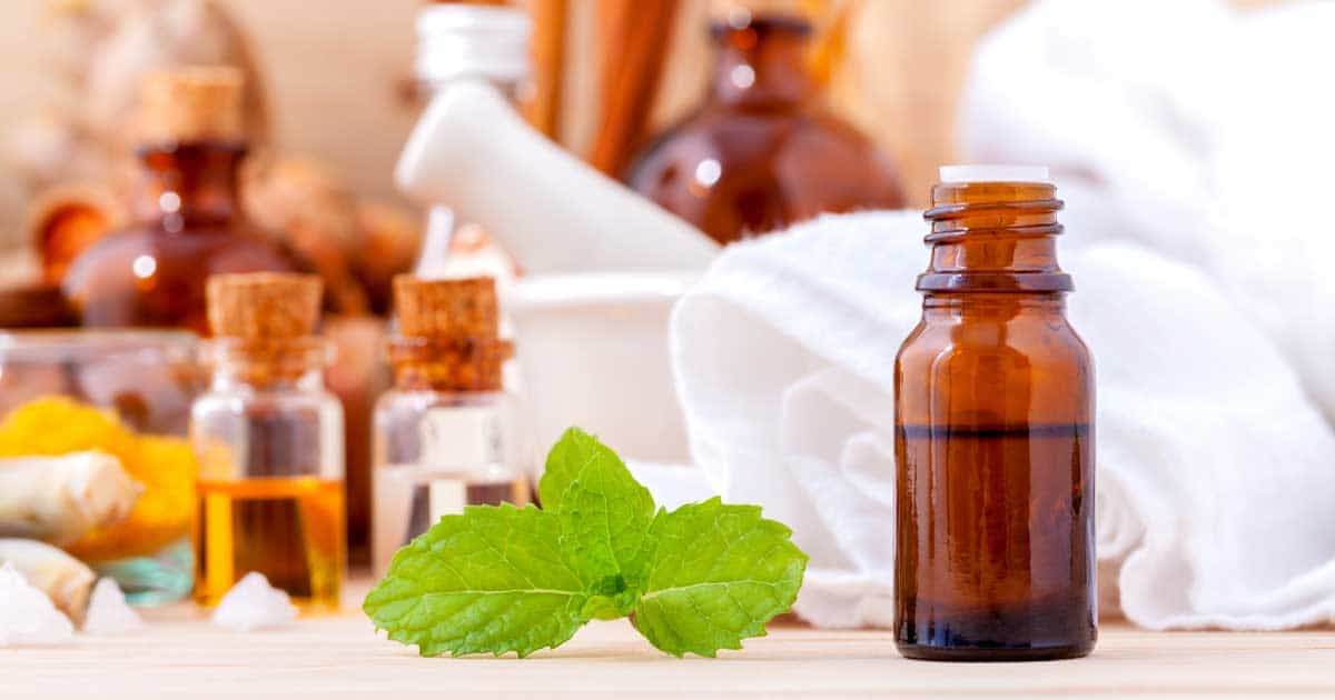 a variety of carrier oils to mix with other essential oils