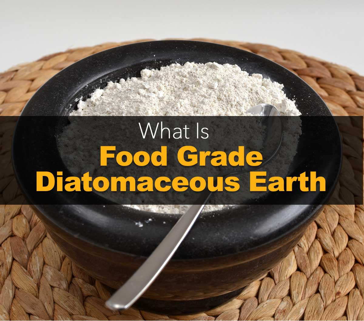 what is food grade diatomaceous earth