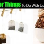 18 Clever Things To Do With Your Used Tea Bags