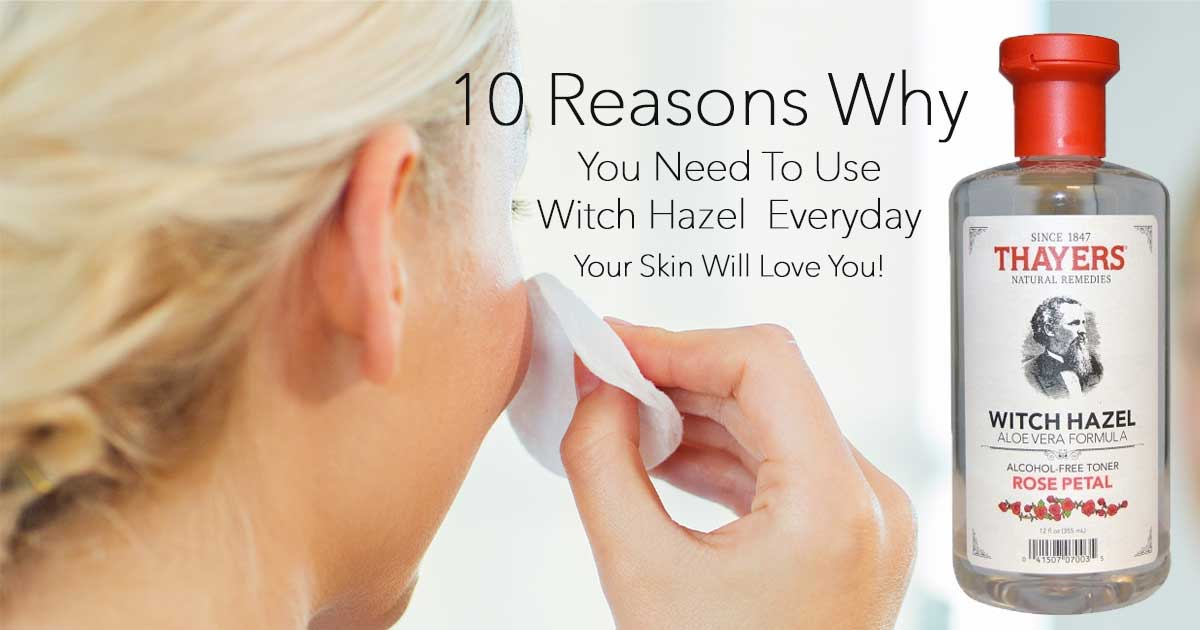 witch hazel for skin